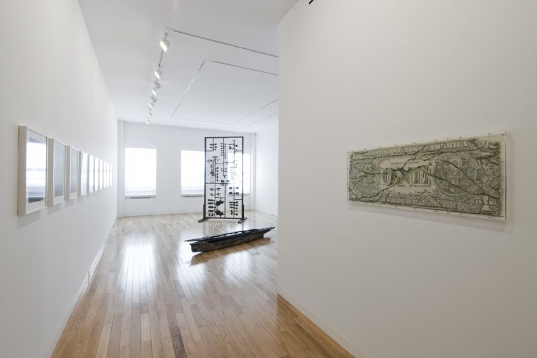Photograph 1 from Nomura, Polke, Yanagi: Works in Progress exhibition.