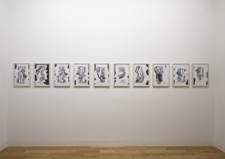 Photograph 4 from Nomura, Polke, Yanagi: Works in Progress exhibition.