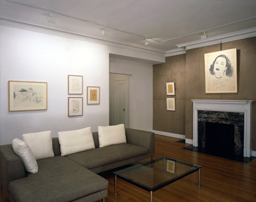 Photograph 1 from Sigmar Polke/Andy Warhol, Drawings, 1962 – 1965 exhibition.