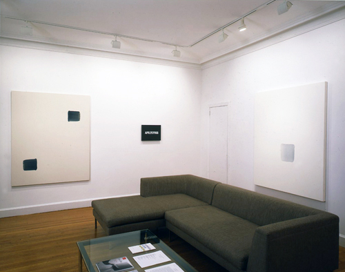 Photograph 1 from On Kawara, Lee Ufan, Hitoshi Nomura: Time Recorded exhibition.