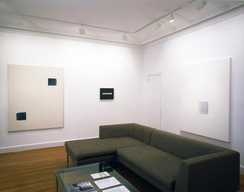 Photograph 1 from On Kawara, Lee Ufan, Hitoshi Nomura: Time Recorded exhibition.