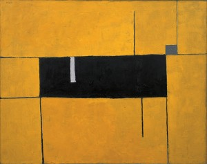 Black, Yellow and White Composition - 1953 - William Scott