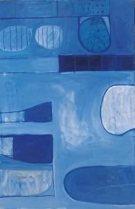 Blue Abstract - 1964 - William Scott