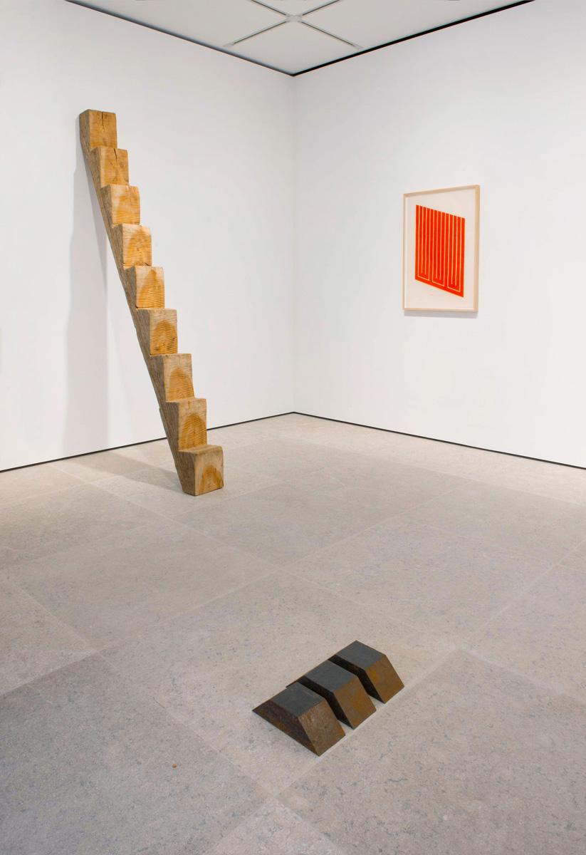 Photograph 1 from Richard Nonas / Donald Judd exhibition.