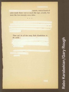 Cover Image of Rabo Karabekian / Gary Rough