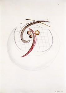 Untitled (Kreisende Formen) - 1966 - Sigmar Polke