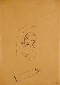 Untitled (Hair Removal Cream) - 1963 - Sigmar Polke
