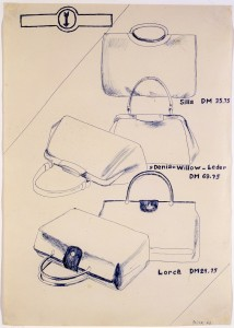 Untitled (Handbags) - 1963 - Sigmar Polke