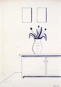 Untitled (Vase) - 1965 - Sigmar Polke