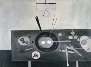 Still Life with Table Top - 1950 - William Scott