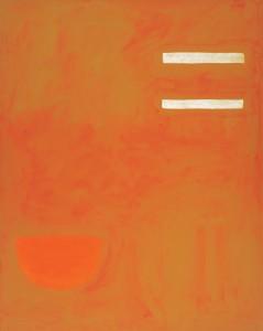 Strong Note Orange - 1972 - William Scott