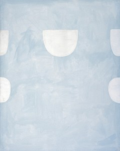 Strong Note Pale Blue - 1977 - William Scott