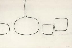 Drawing Towards Painting - 1971 - William Scott