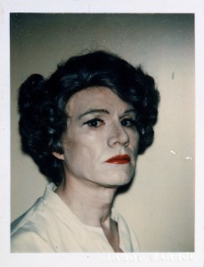 Self-Portrait in Drag - 1980 - Andy Warhol