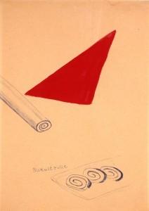 Biskuitrolle (Jelly Roll) - 1964 - Sigmar Polke