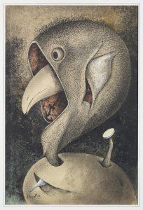 Birds and Beasts Chronicle, an Extra Edition: Mask Bird - 1958-2008 - Tatsuo Ikeda