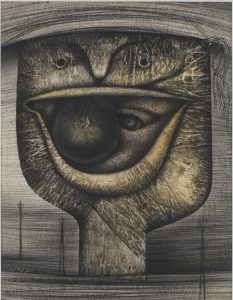 The Eye(s) Inside the Mouth - 1956 - Tatsuo Ikeda
