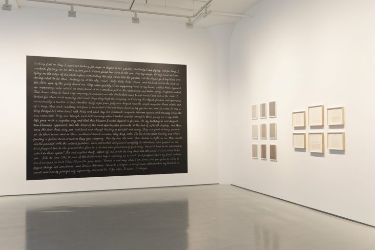 Photograph 4 from Marcia Hafif: From the day a woman... exhibition.