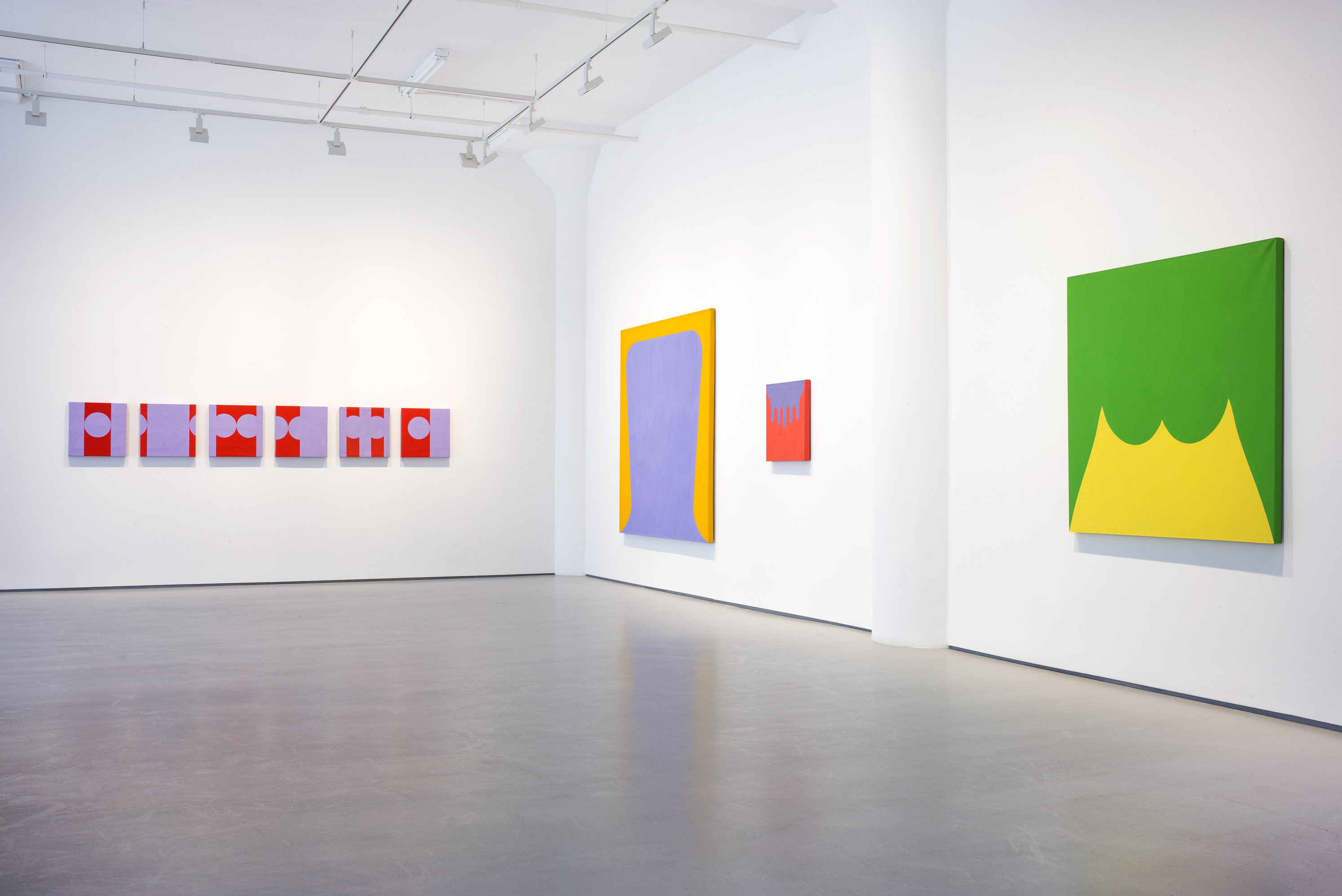 Photograph 3 from Marcia Hafif: The Italian Paintings, <br /> 1961 – 1969 exhibition.