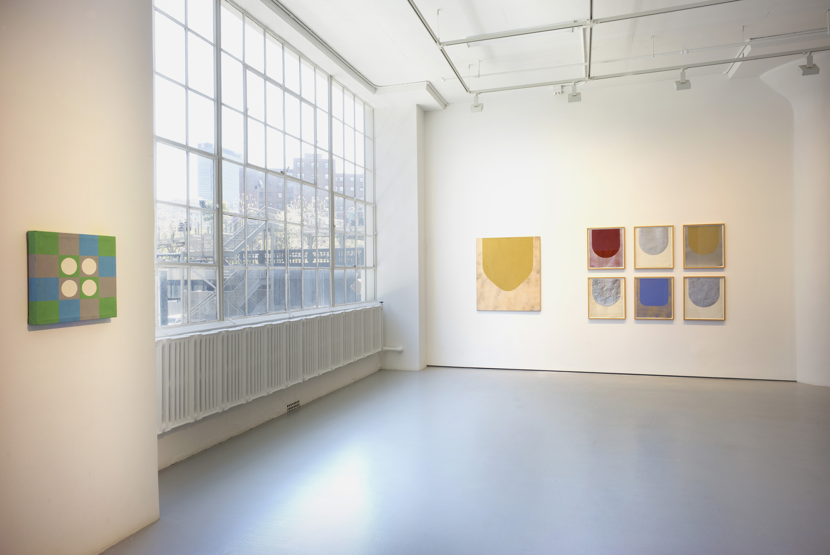 Photograph 4 from Marcia Hafif: The Italian Paintings, <br />