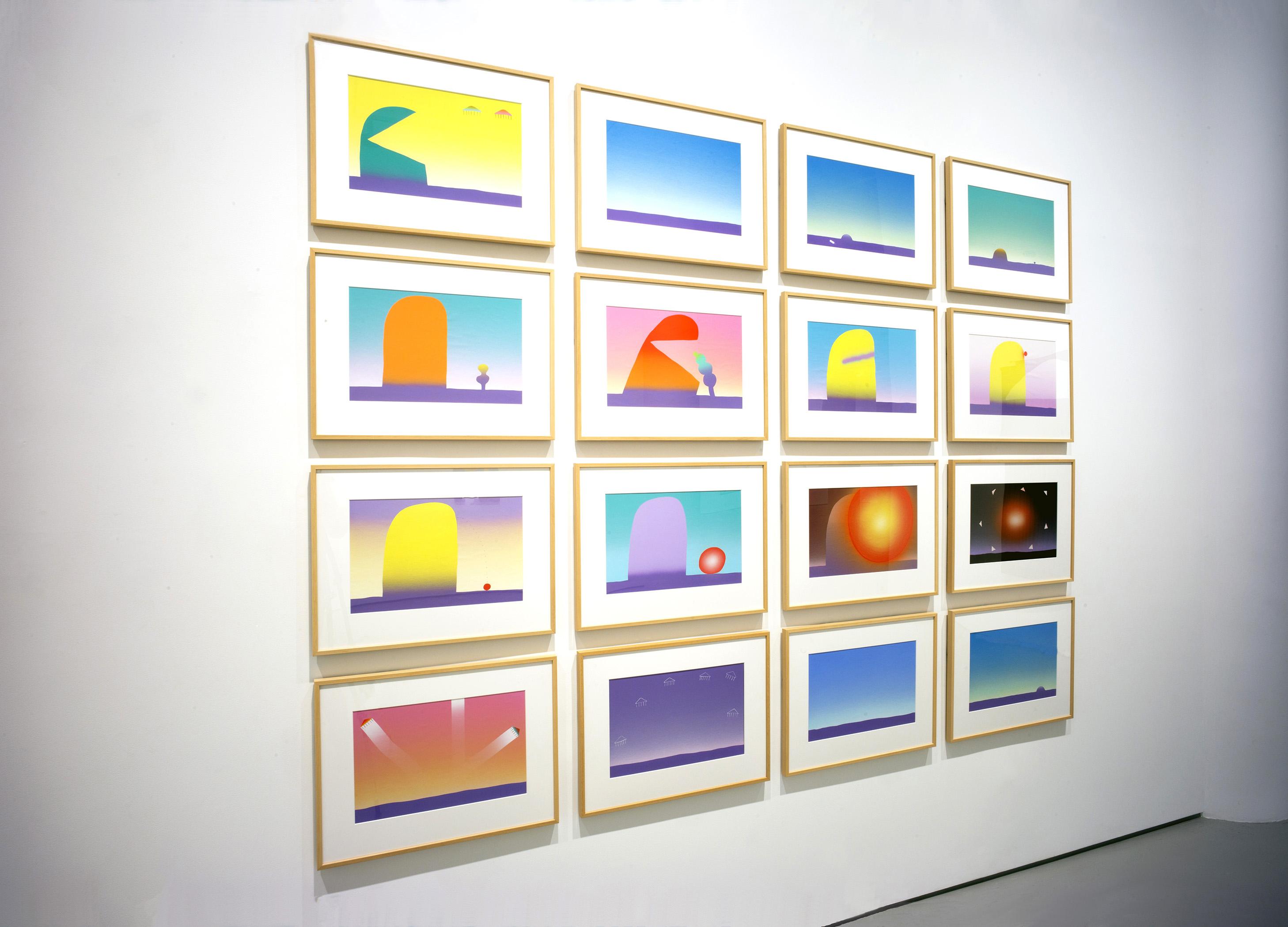 Photograph 4 from Sadamasa Motonaga exhibition.
