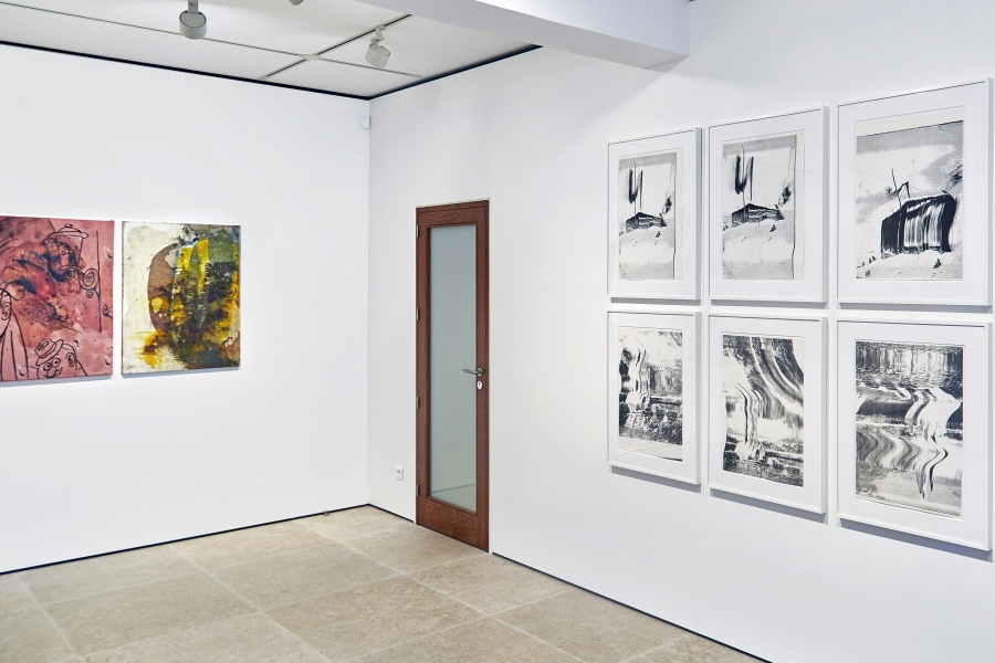 Photograph 2 from Sigmar Polke exhibition.