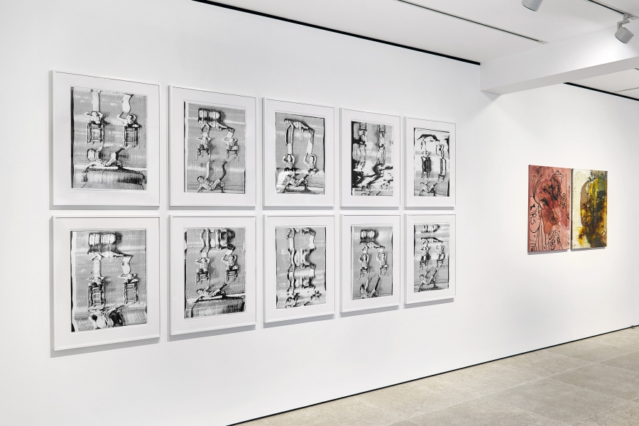 Photograph 3 from Sigmar Polke exhibition.