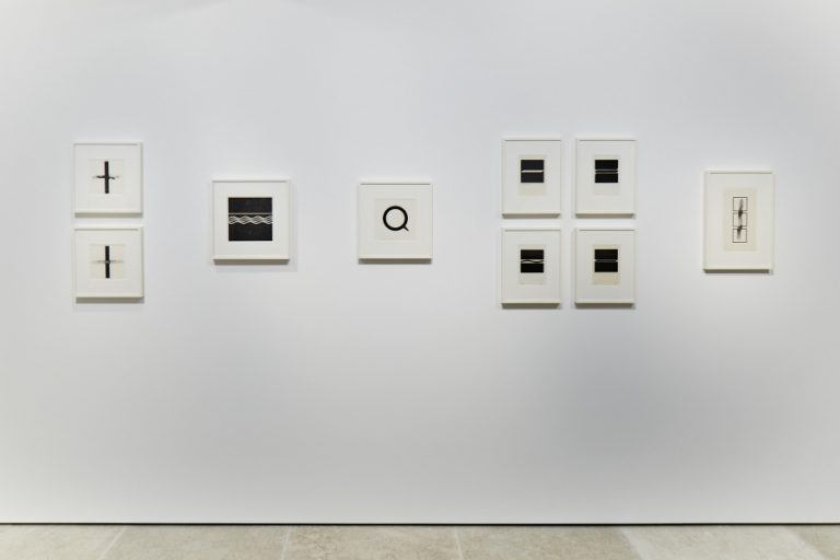 Photograph 1 from Natsuyuki Nakanishi / <br> Jiro Takamatsu exhibition.