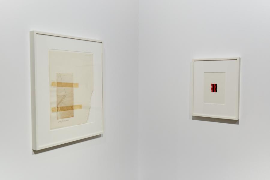Photograph 2 from Natsuyuki Nakanishi / <br> Jiro Takamatsu exhibition.