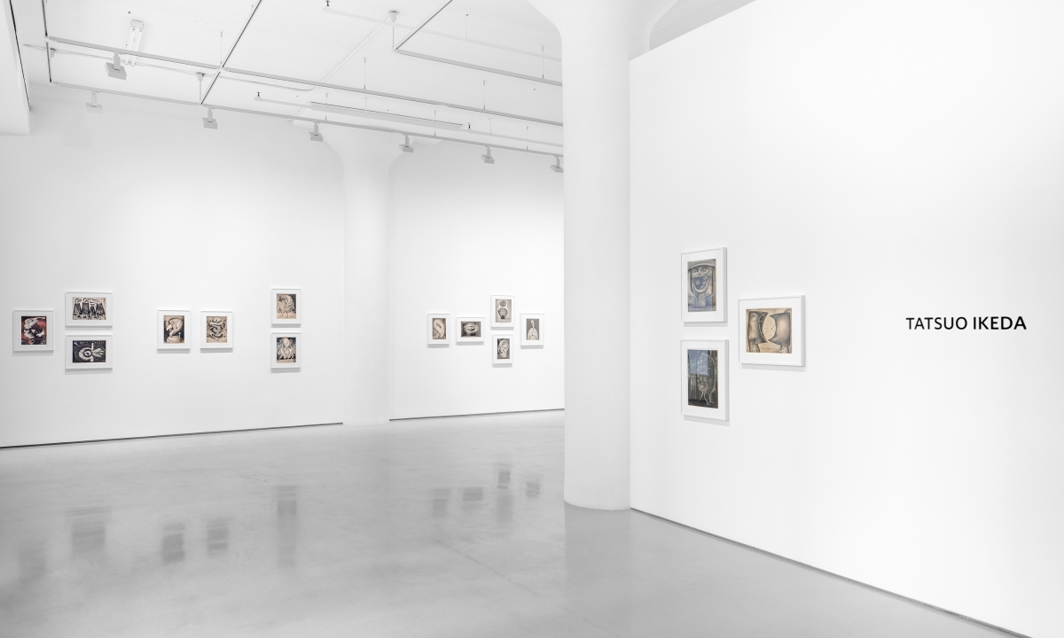 Photograph 1 from Tatsuo Ikeda exhibition.