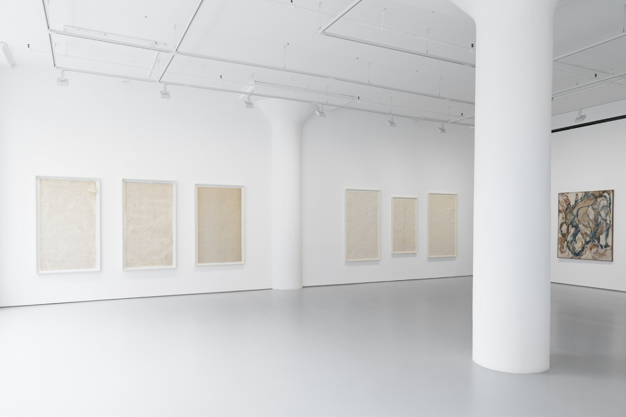 Photograph 2 from Kazuo & Fujiko Shiraga exhibition.