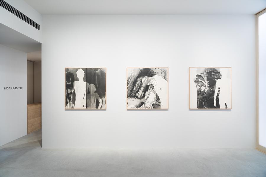 Photograph 3 from Birgit Jürgenssen exhibition.