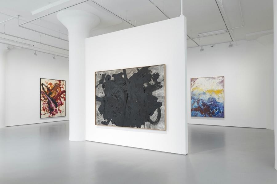 Photograph 1 from Kazuo & Fujiko Shiraga exhibition.
