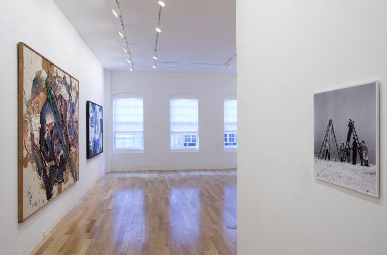 Photograph 6 from Kazuo Shiraga: Six Decades exhibition.