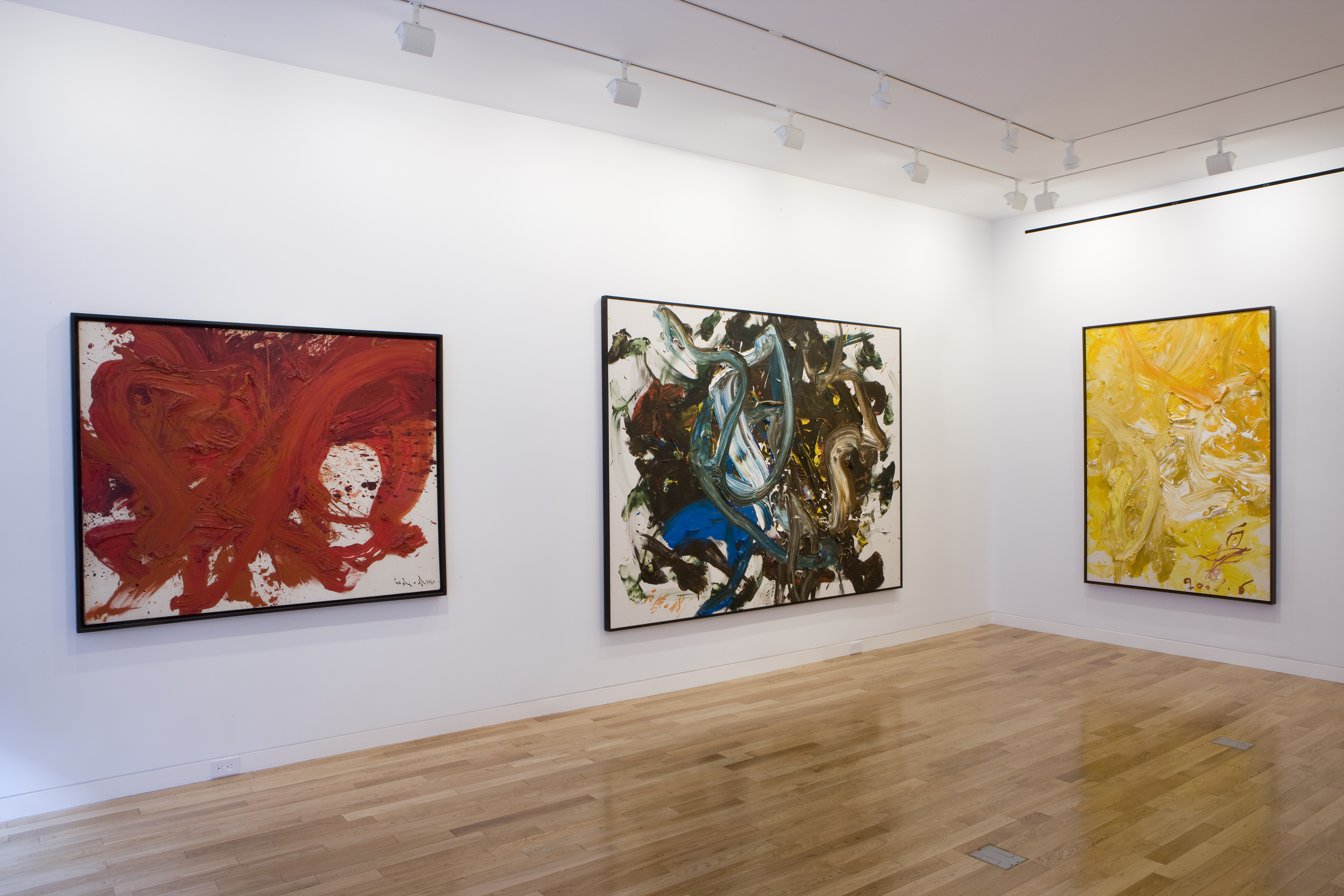 Photograph 4 from Kazuo Shiraga: Six Decades exhibition.