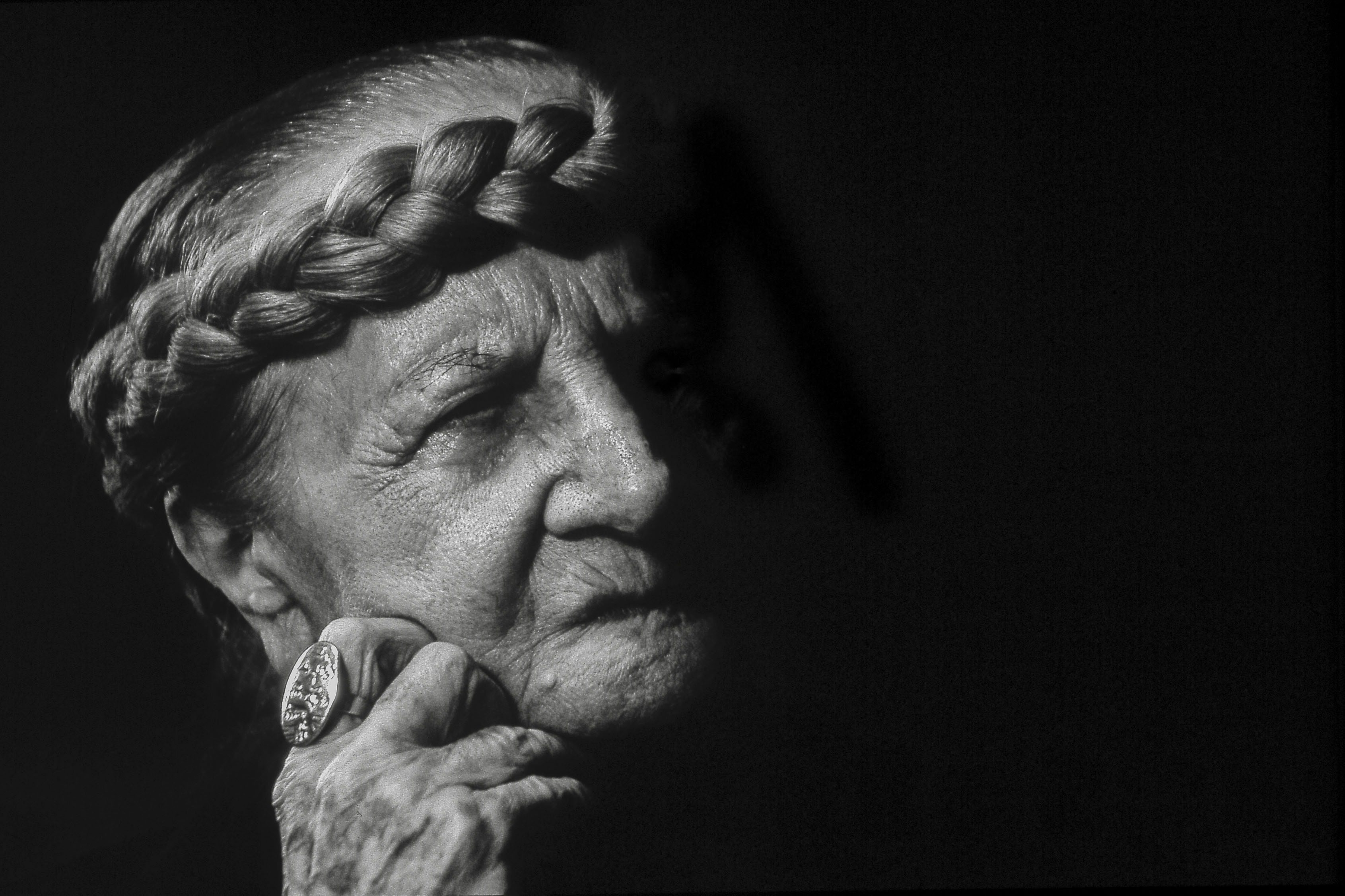 Photograph of Carol Rama