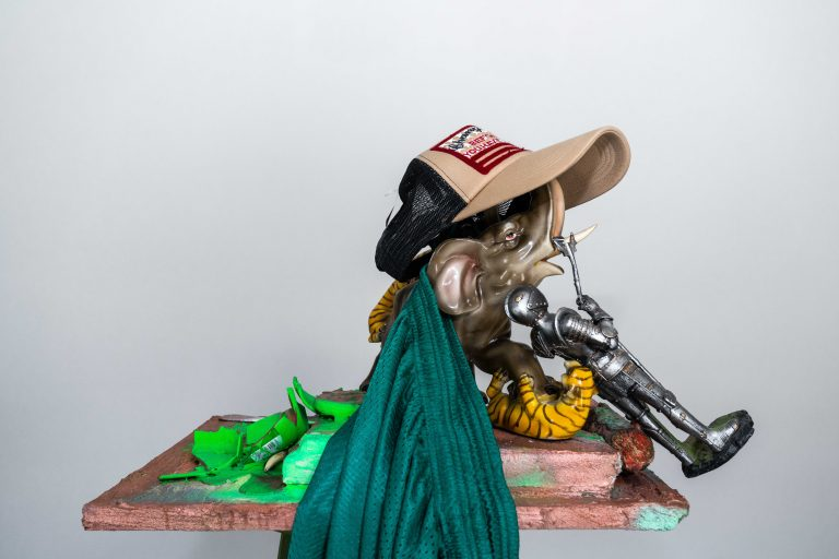 Photograph 6 from Rachel Harrison & Carol Rama exhibition.