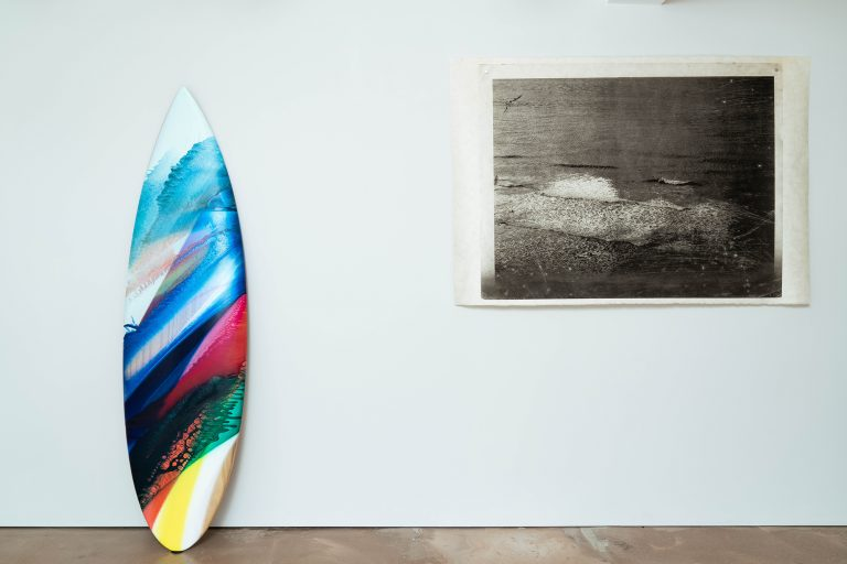Photograph 2 from Barbarian Days exhibition.