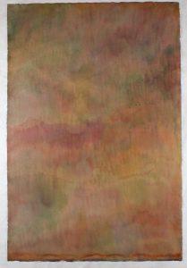 Cadmium Yellow, Cadmium Scarlet, Manganese Blue, Prussian Green, Permanent Magenta - 1974 - Marcia Hafif