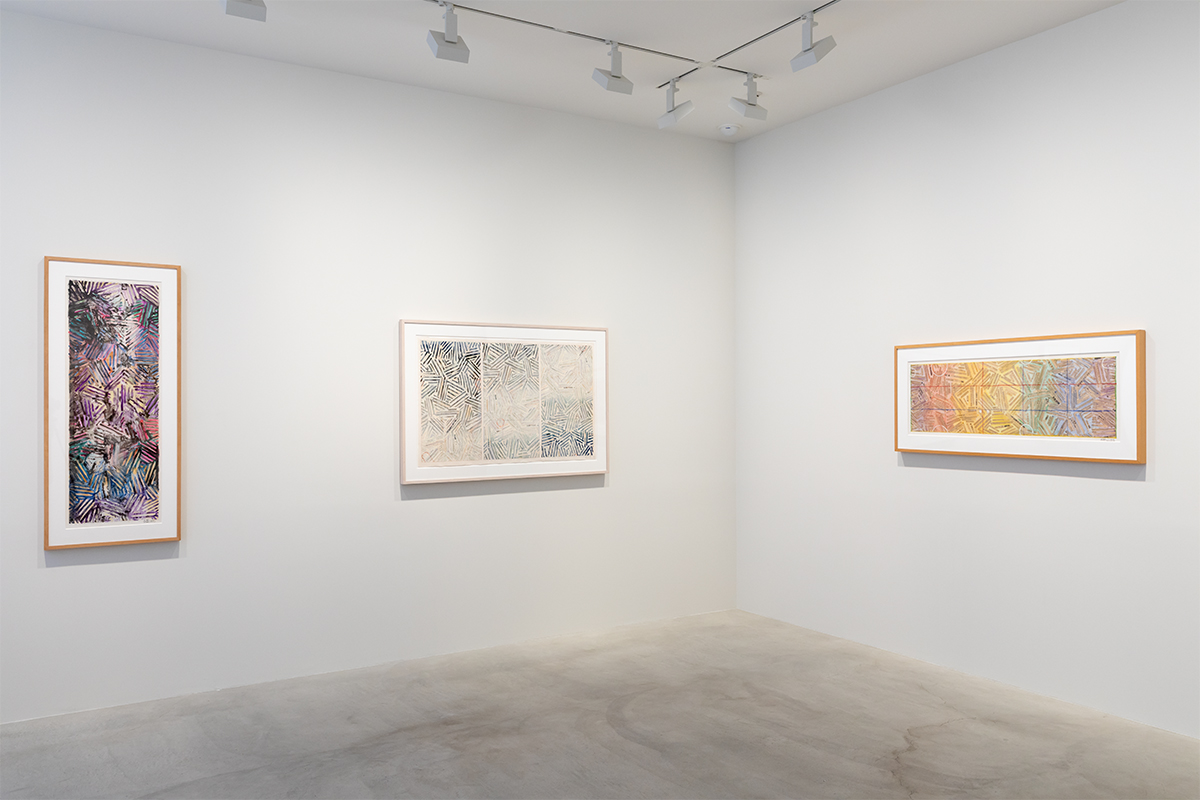 Photograph 1 from Jasper Johns: Usuyuki exhibition.