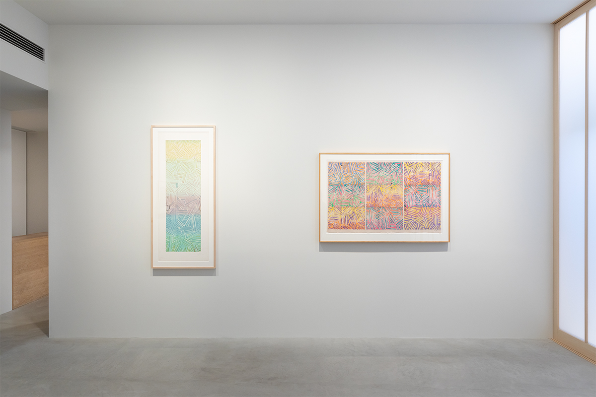 Photograph 2 from Jasper Johns: Usuyuki exhibition.