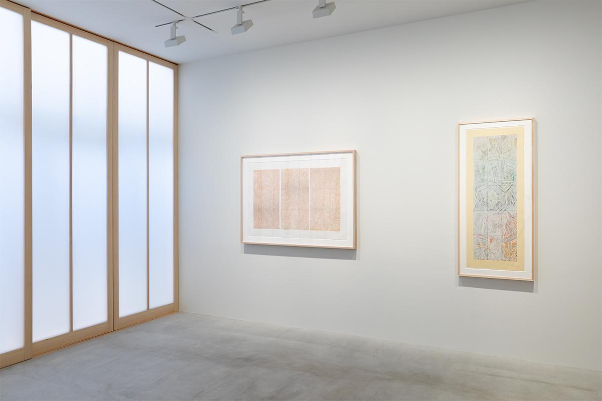 Photograph 3 from Jasper Johns: Usuyuki exhibition.