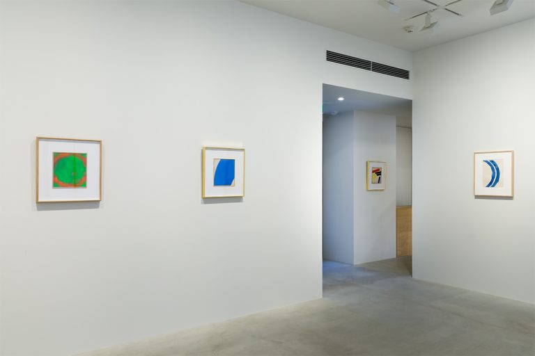 Photograph 6 from Jiro Yoshihara: The Persistence of Form exhibition.