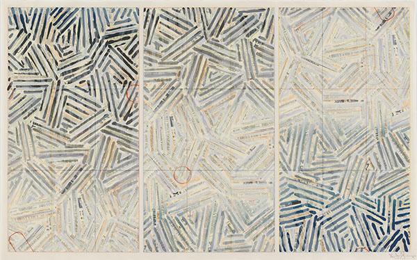Photograph 1 from Jasper Johns: Usuyuki exhibition.