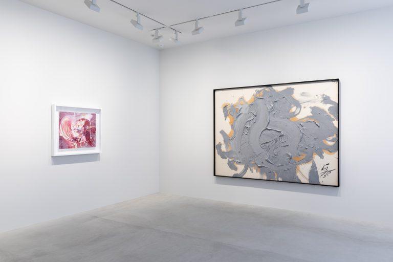 Photograph 1 from Kazuo Shiraga exhibition.