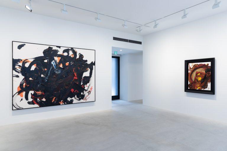 Photograph 2 from Kazuo Shiraga exhibition.