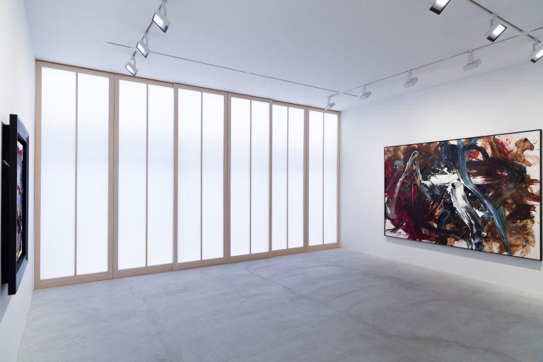 Photograph 4 from Kazuo Shiraga exhibition.
