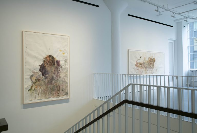 Photograph 9 from Martha Jungwirth exhibition.