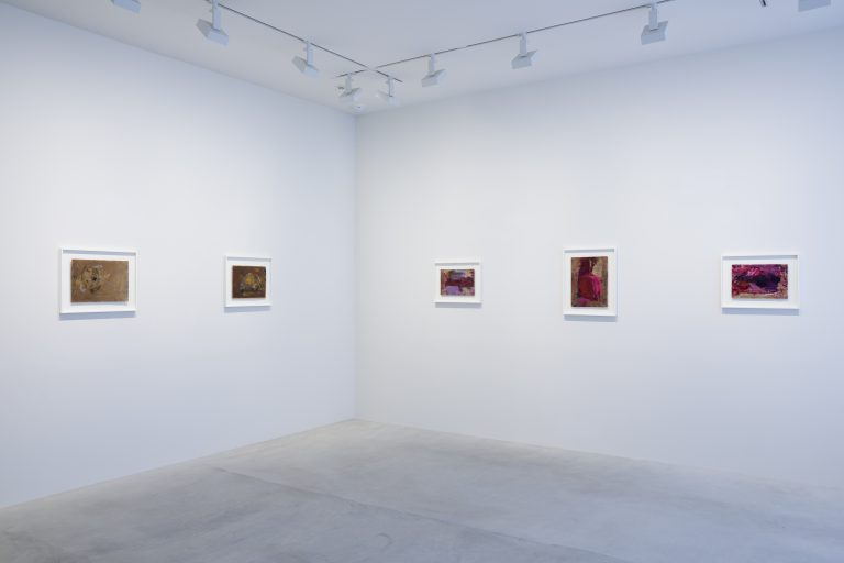 Photograph 4 from Martha Jungwirth exhibition.