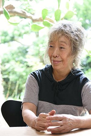 Photograph of Ishiuchi Miyako